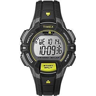 Timex  T5K809 – Reloj de cuarzo unisex, con correa de resina, color negro