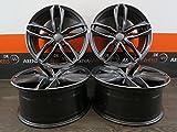 4 Alufelgen Ultra Wheels UA6-PRO 18 Zoll passend für Audi ASB5 8E 8W S5 A5 A6 S6 4B 4G A7 A8 RSQ3 Q3 Q5 UA6 NEU