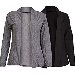 """Dimension: Carbon Grey -> Sleeve - 21 Inches, Length - 26 Inches, Shoulder- 18 Inches, Arm Hole - 8 Inches, Black -> Sleeve - 21 Inches, Length - 26 Inches, Shoulder- 18 Inches, Arm Hole - 8 Inches, They can fit from chest 30"""" to chest 36"""""""