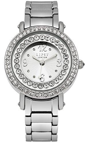 Police. LP370 - Reloj para mujeres, correa de otros materiales color plateado