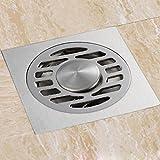 Dickes Edelstahl Deodorant Bodenablauf Bad Badezimmer Küche Universal Abnehmbare Filterabdeckung