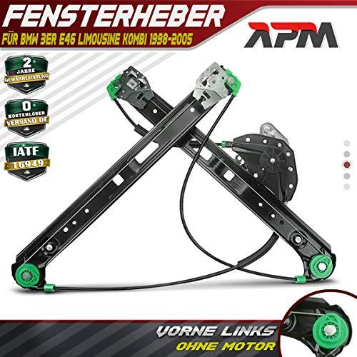 Fensterheber Ohne Motor Vorne Links für 3er E46 1998-2005 51337020659