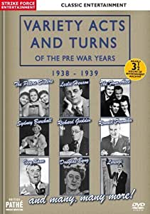 Variety Acts and Turns of the Pre War Years 1938 - 1939 [DVD]
