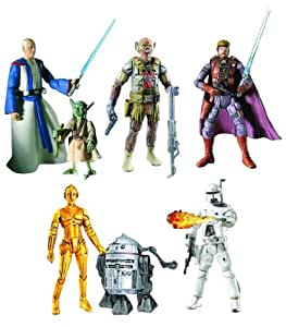 Star Wars Ralph McQuarrie Concept Action Figure Set 1