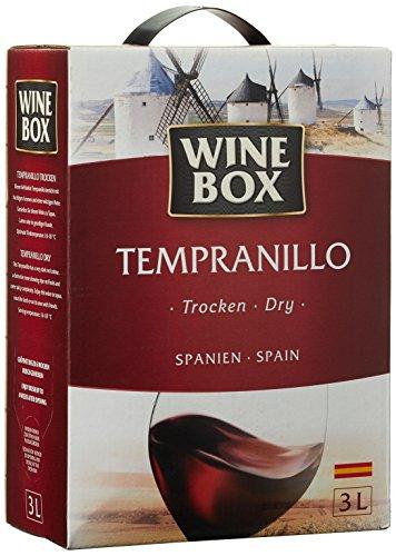Wine Box Vino de la Tierra de Castilla Tempranillo trocken Bag-in-Box (1 x 3 l)