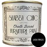 Muebles de barniz en base de tiza, para el Shabby Chic de estilo de, de regalices Negro, contenido: 1l