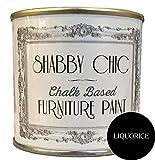 Réglisse Noir Craie Base Meubles Peinture Idéal pour créer un style shabby chic. 1litre