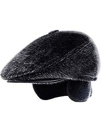 GG Hombres Protección para los oídos Gorra Otoño e Invierno Mantener  Caliente Boinas Al d98cd1048f5