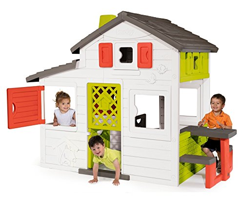 This provides great fun for kids and friends alike as it has plenty of room to play and many engaging props too.