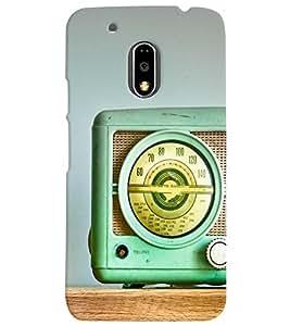 Motorola MOTO G4 PLUS MULTICOLOR PRINTED BACK COVER FROM GADGET LOOKS