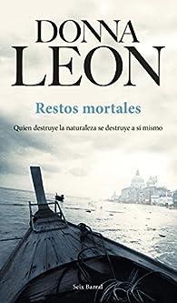 Restos mortales par Donna Leon