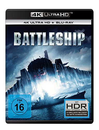 Battleship - Ultra HD Blu-ray [4k + Blu-ray Disc]