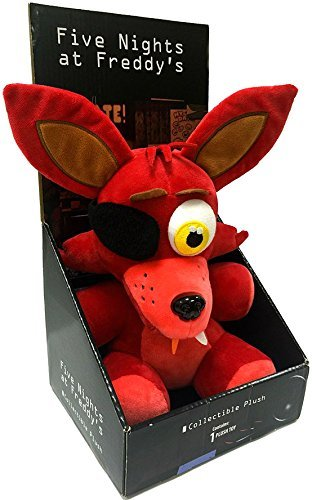 Five Nights At Freddys - Foxy Plush - Boxed - Officially Licensed - 25cm 10""