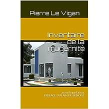 Inventaire de la modernité: avant liquidation. PREFACE D'ALAIN DE BENOIST
