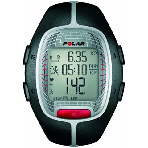 Polar RS300X - Reloj de entrenamiento con funciones de cronómetro y frecuencia cardíaca, color