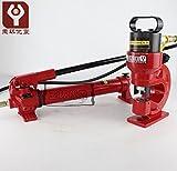 ch-60Hydraulische Maschine Hydraulische Locher Hydraulische Erdlochausheber, hydraulische Stanzen Treiber, hydraulische Locher Werkzeug mit cp-700Manuelle Hydraulische Pumpe