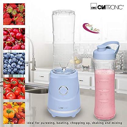 Clatronic-SM-3694-Smoothie-Maker-und-Clatronic-EF-Ersatzflasche