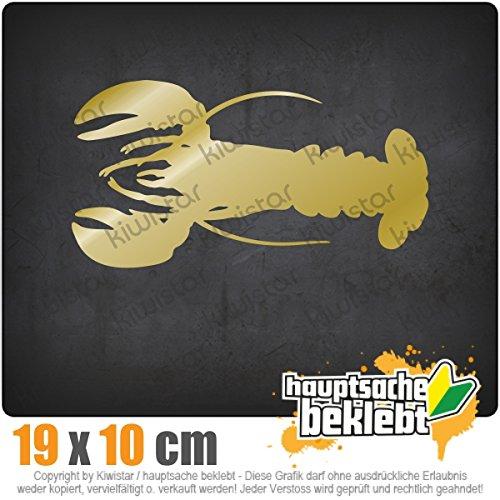 KIWISTAR Hummer - Lobster - Krebs - Cancer IN 15 FARBEN - Neon + Chrom! Sticker Aufkleber