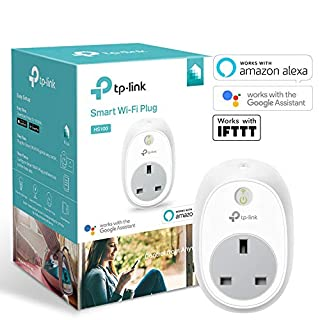 TP-Link Smart WiFi Plug, Works with Amazon Alexa (Echo and Echo Dot), Google Home and IFTTT, No Hub Required, Control your Devices from Anywhere