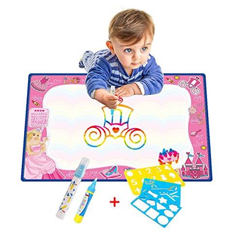70x50cm-aqua-doodle-tapis-eau-dessin-painting-tapis-avec-2-styloaevea-maxi-tapis-aqua-doodle-arc-en-