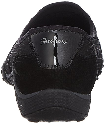 Skechers Breathe-EasyGood Life, Baskets Basses Femme Noir - Noir