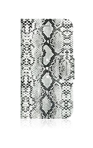 White Diamonds 1312TRI73 Crystal Safari Edition Zebra Tasche für iPhone 6, Mehrfarbig -
