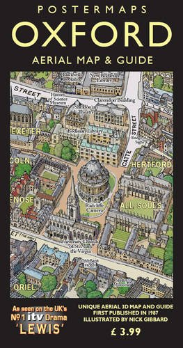 Oxford Aerial Map and Guide -