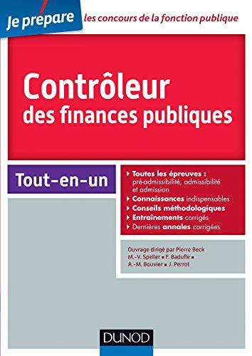 Contrleur des finances publiques - Concours externe et interne - Tout-en-un