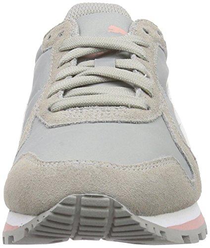 Puma St Runner Nl Scarpe da Corsa, Unisex adulto (Multicolor (Drizzle-White-Coral Cloud Pink))