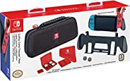 RDS Industries Nintendo Switch Goplay Game Traveler Accessory Pack Comes With Case Grip Stand Cleansing Cloth