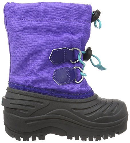 Sorel Childrens Super Trooper, Bottes mixte enfant Violet (Purple Arrow/Reef 551)