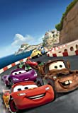 Fototapete Disney, CARS Italy, 127x184cm, 1-teilig, Kindertapete mit den beliebten Autos.