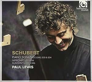Schubert: Piano Sonatas D.840; 850 & 894 (Paul Lewis)