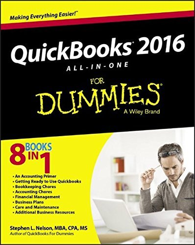 QuickBooks 2016 All-in-One For Dummies by Stephen L. Nelson (2015-11-23)