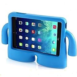 """Vendopolis Funda para Tablet 10,1"""" para NIÑOS Goma iBuy iGuy Solo Compatible con Samsung Galaxy con P5100/N8000/TAB2/P7500/P600/TAB 3/P5210/P5200/TAB 4/T530/T531 (Azul)"""