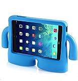 Vendopolis Funda para Tablet 10,1' para NIÑOS Goma iBuy iGuy Compatible Samsung Galaxy con P5100/N8000/TAB2/P7500/GALAXY Note 10.1/P600/TAB 3/P5210/P5200/TAB 4/T530/T531 (Azul)