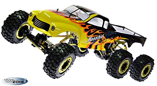 RC Auto kaufen Monstertruck Bild 2: RC Monstertruck Crawler 6 x 6 Climber Rock Fighter Hannibal XXL 104 cm 1:5 HSP 2,4 GHz RTR*
