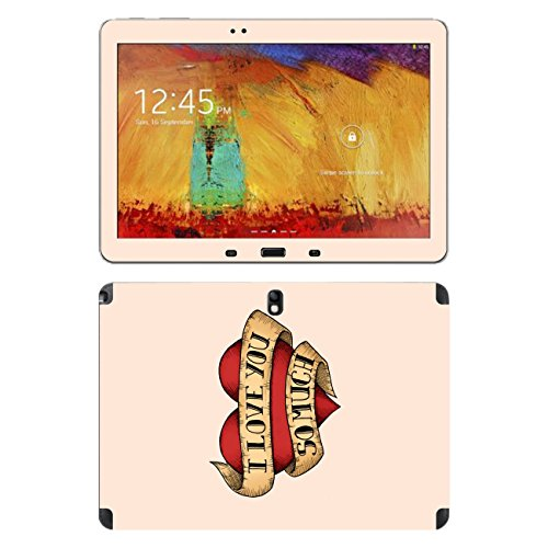 Disagu SF-105234_890 Design Folie für Samsung SM-P600 Galaxy Note 10.1 2014 Edition, WiFi Motiv