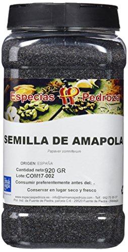Especias Pedroza Semillas Naturales de Amapola - 920 gr