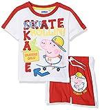 Sun-City Peppa Pig, Completo Sportivo Bambino, Rosso (Red RED), 2-3 Anni (Dimensioni Produttore:3 Anni)
