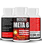Fat Loss Pills | #1 Fat Burners | Meta6 Slimming Pills - Includes * FREE * Weight Loss Report | Strong Weight Loss Pills - | 90 Appetite Suppressant Tablets | FULL 6 Week Supply | Burns Fat Fast For Men And Women | Speed Up Weight Loss, Increase Energy And Maximise Your Workout With Enhanced Mental Focus | Safe And Effective | Best Selling Weight Loss Pills | Manufactured In The UK!