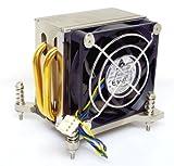 EKL 21510121050 REV C refrigerador para CPU Socket 775 2 de cobre heat pipes FSC Fujitsu Siemens V26898 - B856 - V1 para ESPRIMO E5730 E-STAR4