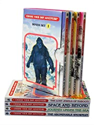 Choose Your Own Adventure 4-Book Set, Volume 1: The Abominable Snowman/Journey Under the Sea/Space and Beyond/The Lost Jewels of Nabooti