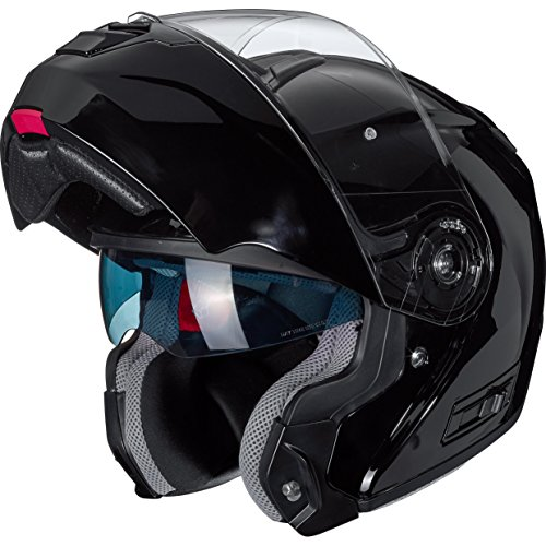 Motorradhelm Nexo Klapphelm Comfort schwarz S