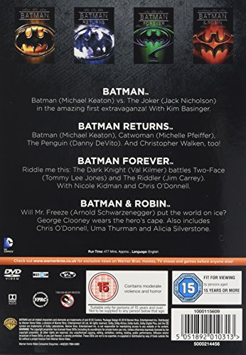 Image of Batman: The Motion Picture Anthology 1989-1997 [DVD] [2005]