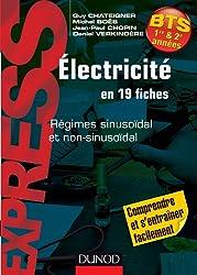 Électricité en 19 fiches - Régimes sinusoïdal et non sinusoïdal