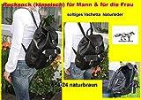 Rucksack BP041 schwarz LUXUS Nappaleder ASKI/lefox - 7