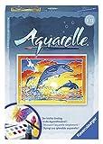 Ravensburger Spielende Delfine. Aquarelle-Malen Mini