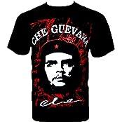 Rock Chang T-Shirt * Che Guevara * Retro Popart * Schwarz R184