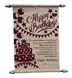 Birthday Scroll Card